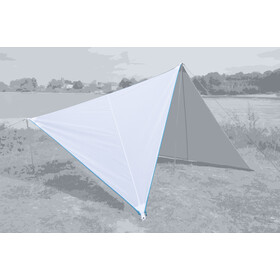 Bent Canvas Plain Kit, white/zipper light blue